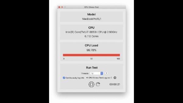 CPU Stress Test Mac版