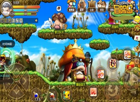 冒险岛手游蘑菇城怎么去时间神殿