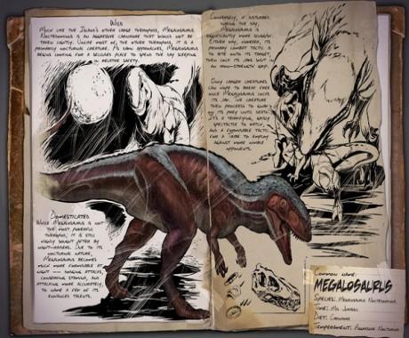 方舟生存进化图鉴大全 方舟生存进化动物图鉴一览