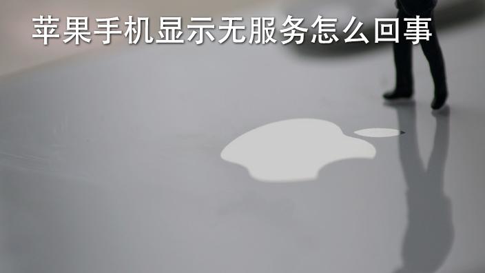 苹果手机显示无服务怎么回事