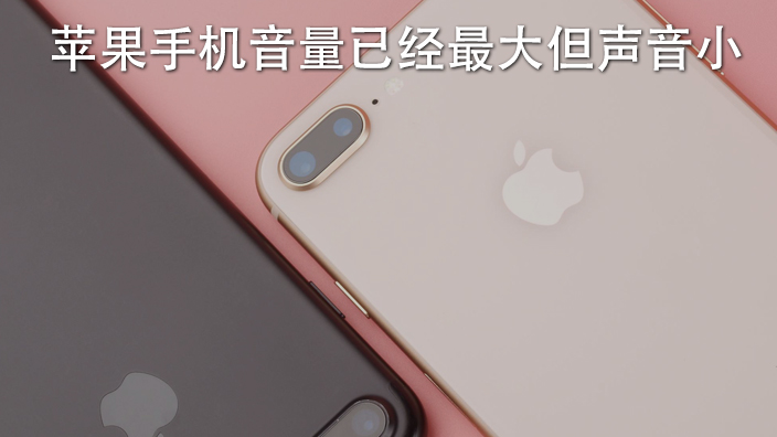 苹果手机音量已经最大但声音小