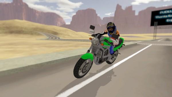 快速摩托车司机(图1)