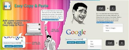 Easy Copy Paste Chrome插件