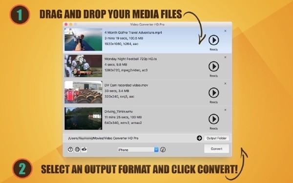 ALL Video Converter HD Mac版