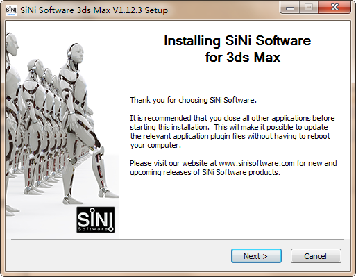 SiNi Software Plugins-SiNi Software Plugins(3DSMAX设计软件)下载 v1.12.3官方版