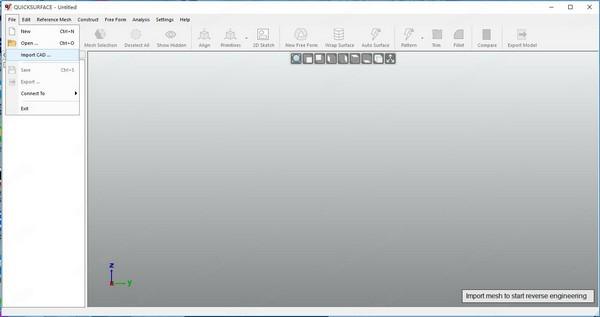 Quick Surface(3D逆向建模软件)