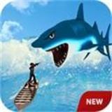 饥饿的鲨鱼袭击