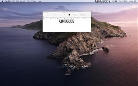 QRBuddy Mac版