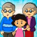 幸福的奶奶家庭