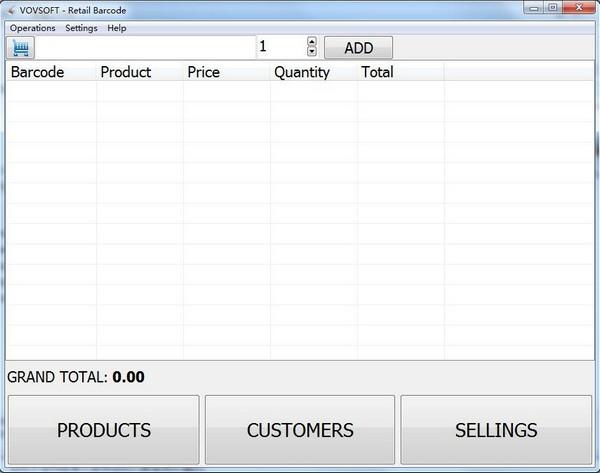 Retail Barcode(收银软件)