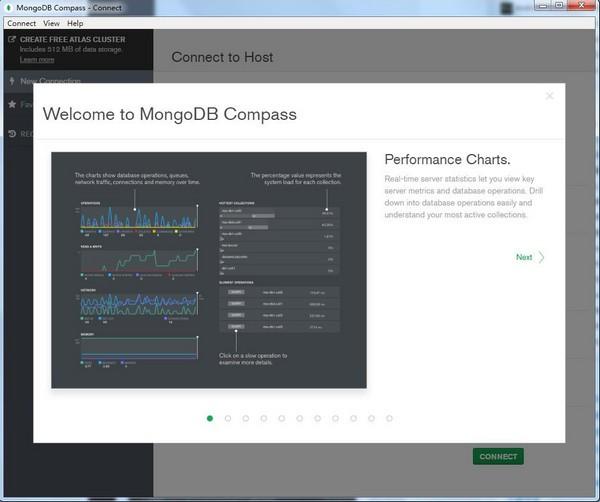 MongoDB Compass(数据库管理软件)