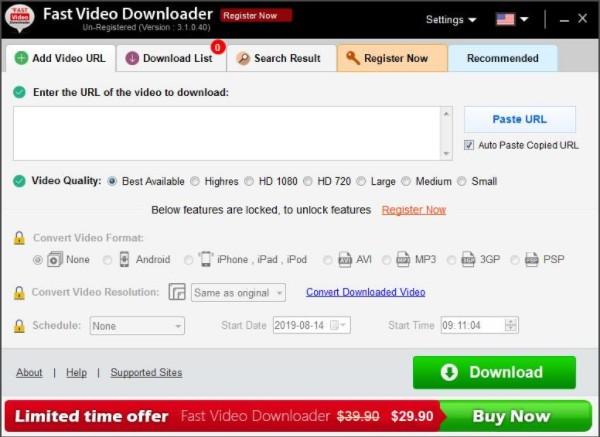 Fast Video Downloader(视频下载软件)