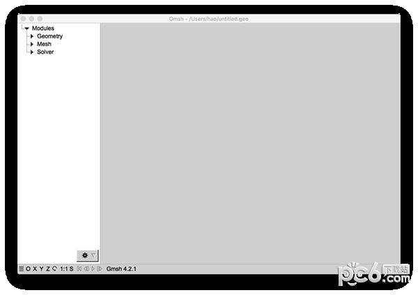 Gmsh Mac版