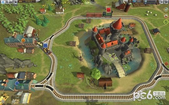 火车山谷2 Mac版