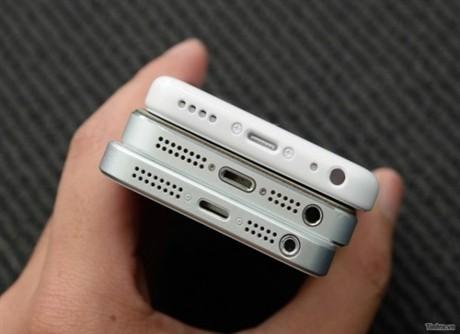 越南网站再曝谍照 iPhone5对比5C/5S