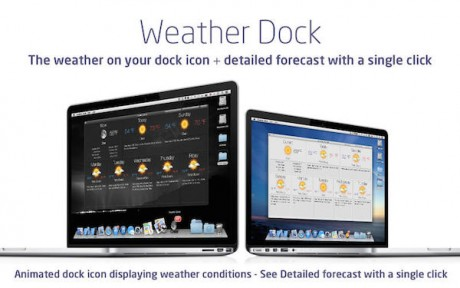 Weather Dock for mac