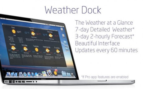 Weather Dock MaC版