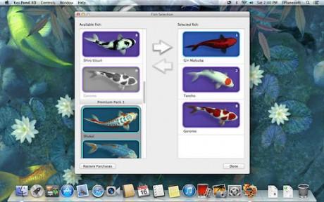 Koi Pond 3D Mac版