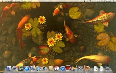 Koi Pond 3D for mac