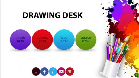 Drawing Desk app