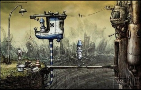 机械迷城(Machinarium)